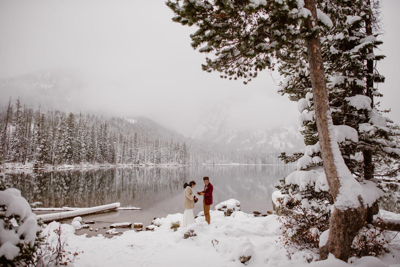 Snowy Mountain Elopement