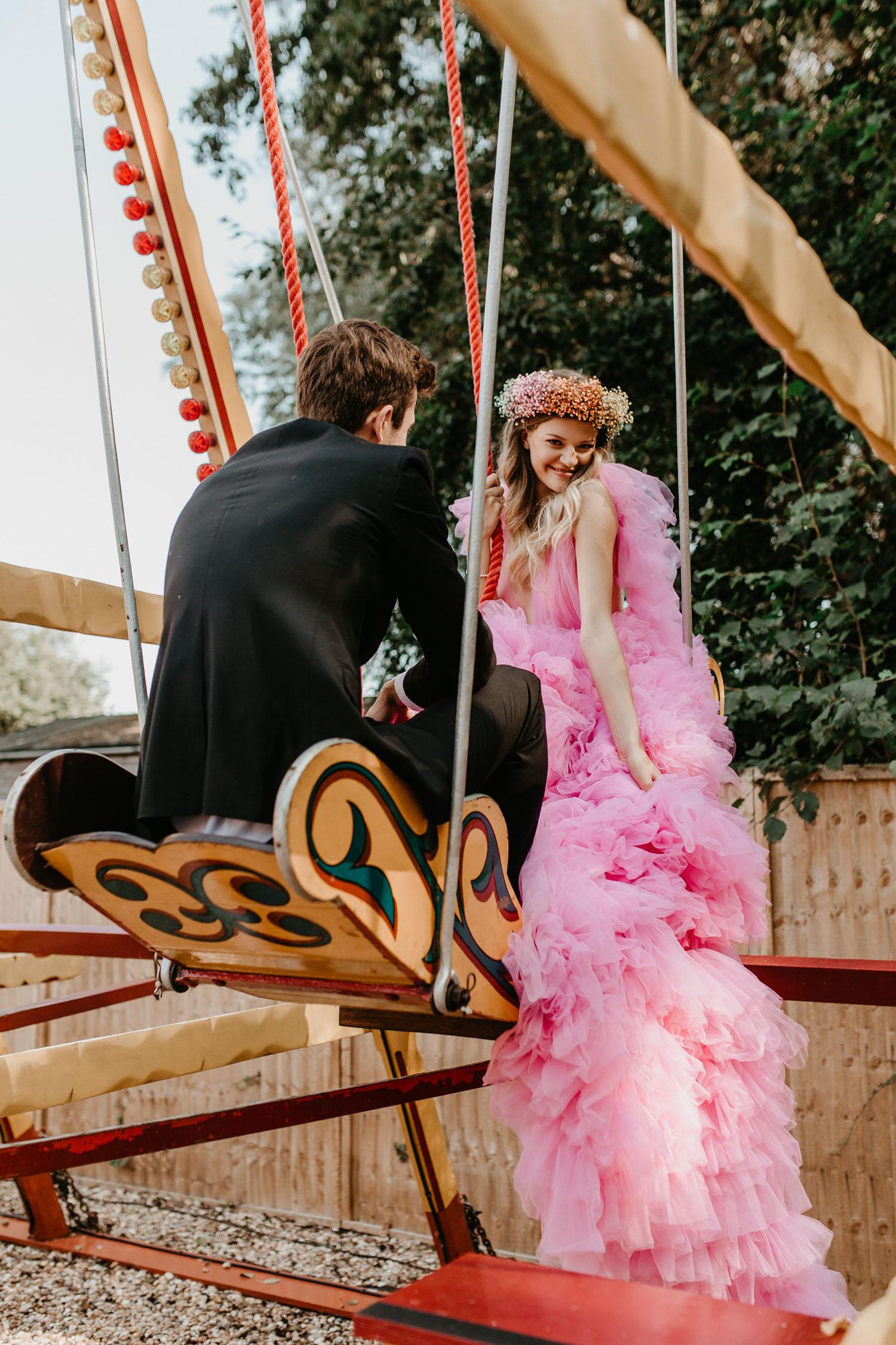 fairground wedding inspiration