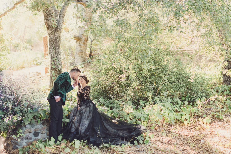 Inspiration de mariage de conte de fées moderne