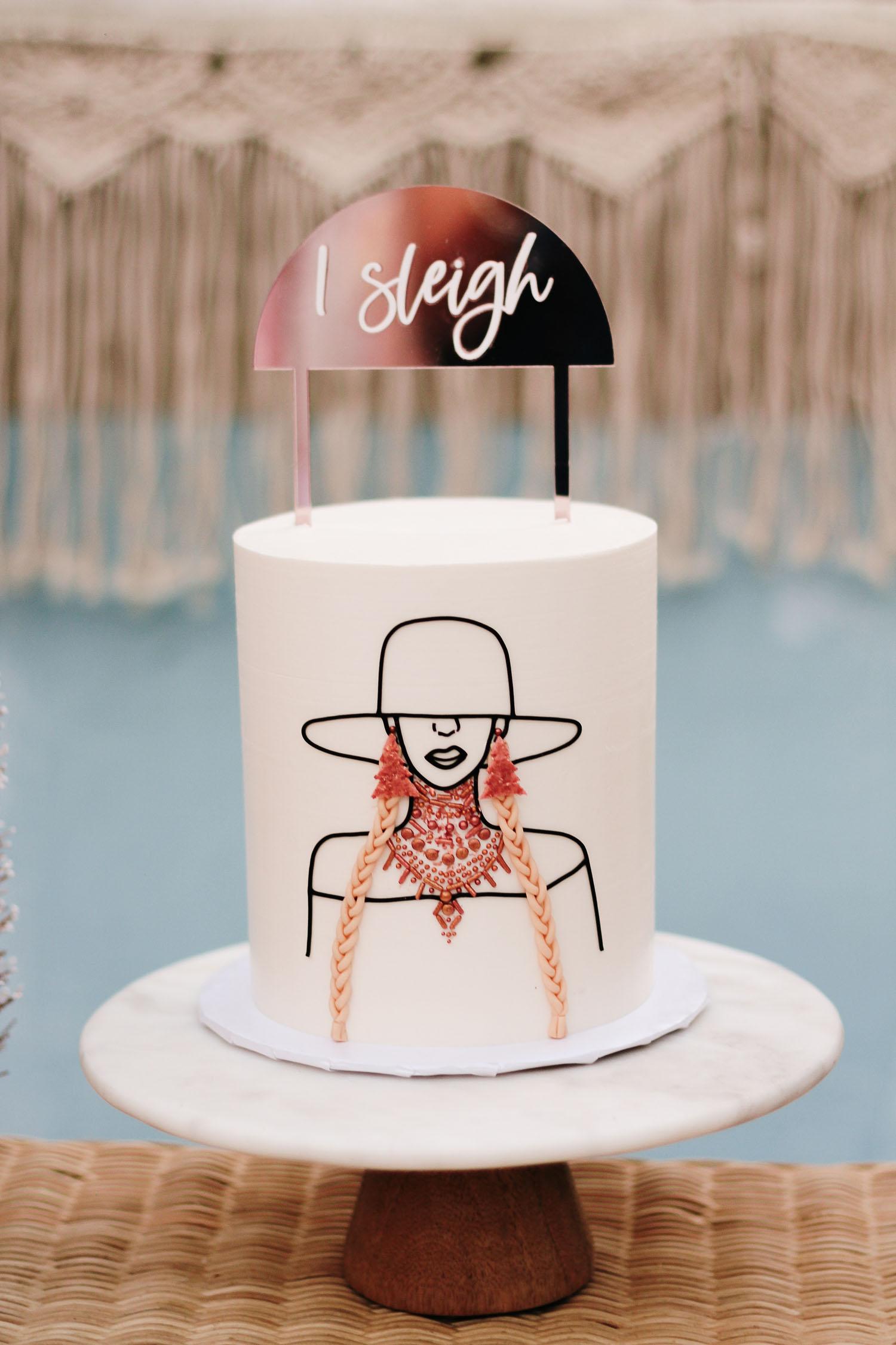 Beyonce Cake