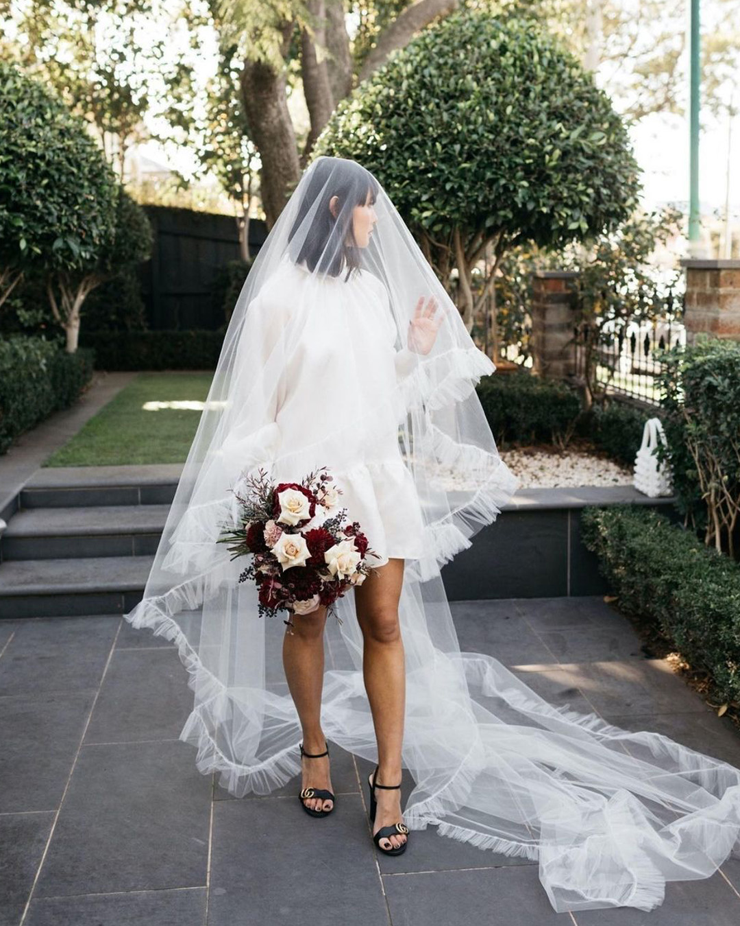 micro wedding dress