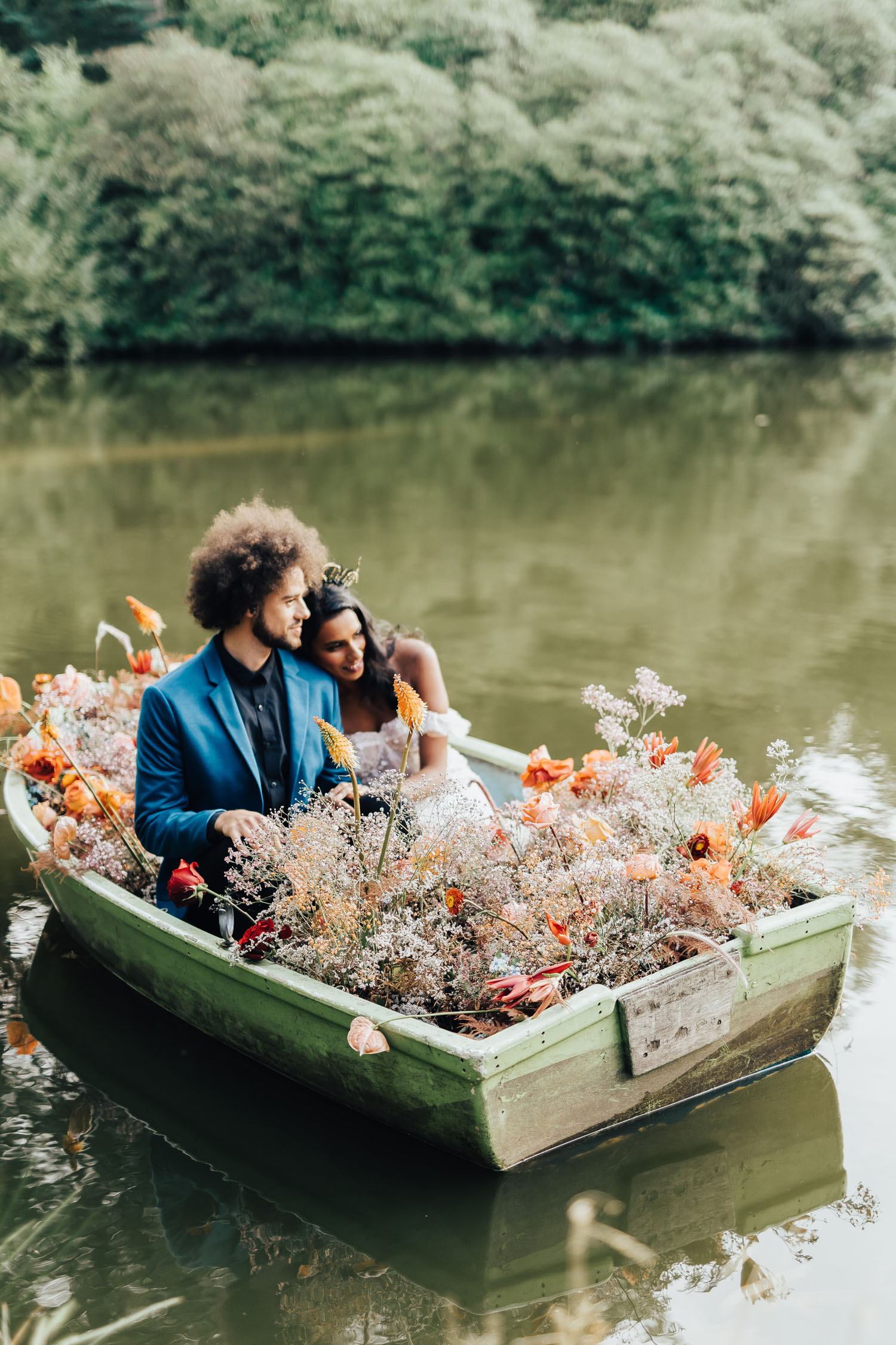 floral boat