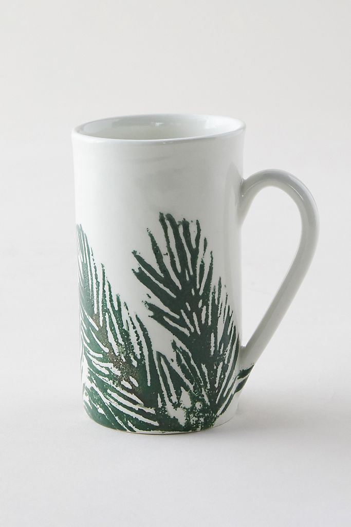 Christmas mugs from Anthropologie