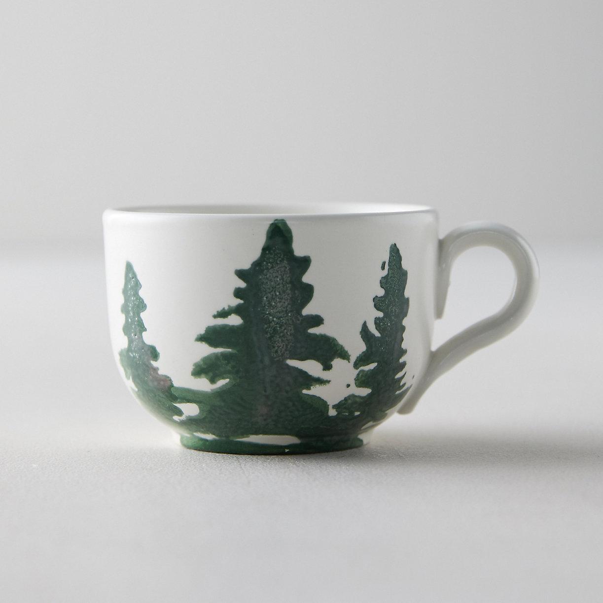Simple Winter coffee mug for gift