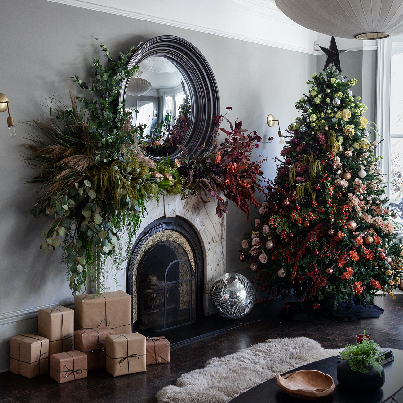 You Have To See These Christmas Trees Decorated With Dried Flowers A christmas tree is a decorated tree, usually an evergreen conifer such as spruce, pine, or fir or an all photos are checked for quality, so you get only beautiful desktop wallpapers. christmas trees decorated