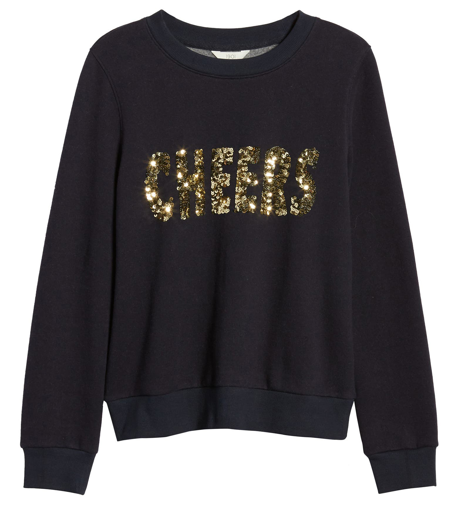 cheers sequin sweatshirt