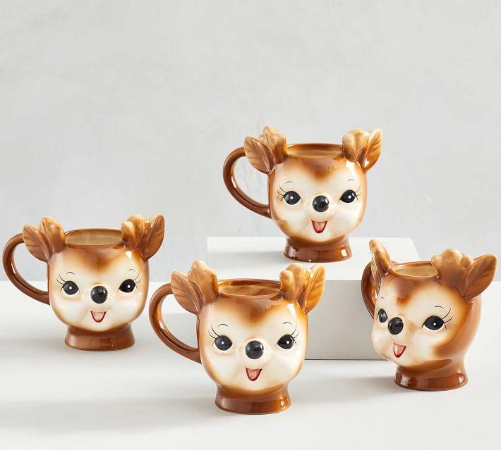 Reindeer Mug Set