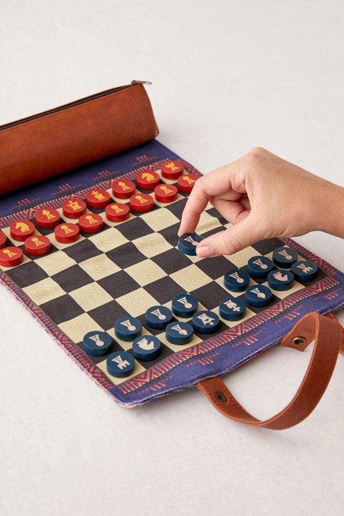 Pendleton Chess + Checkers to take away