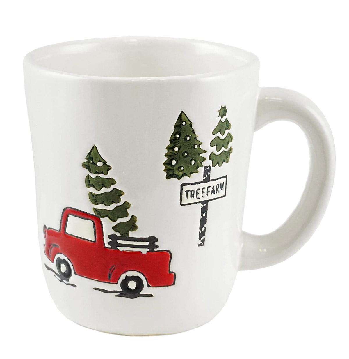 tree farm mug
