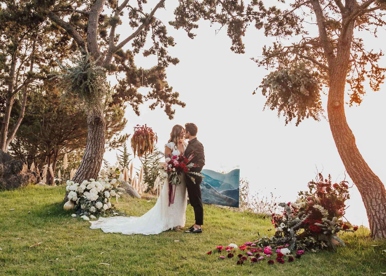 Boho Big Sur Glamping Wedding Inspiration