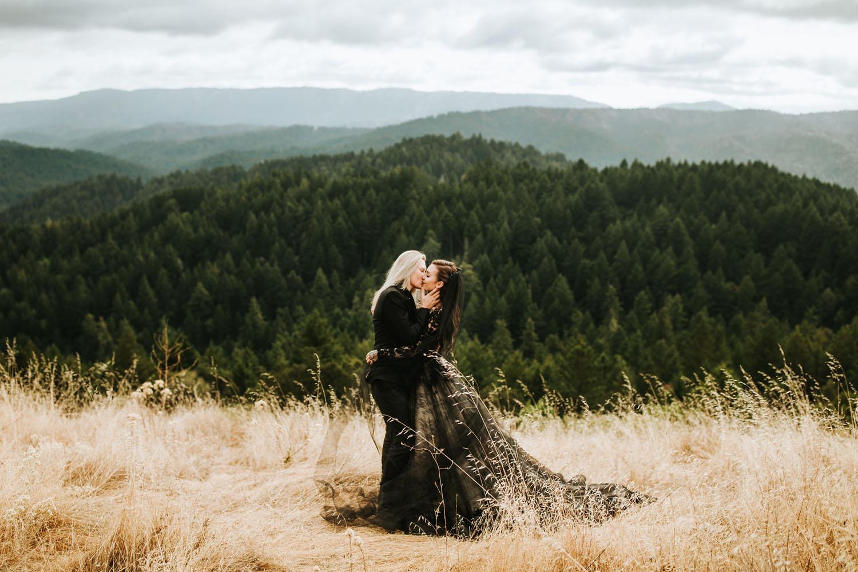 Redwoods North California Wedding