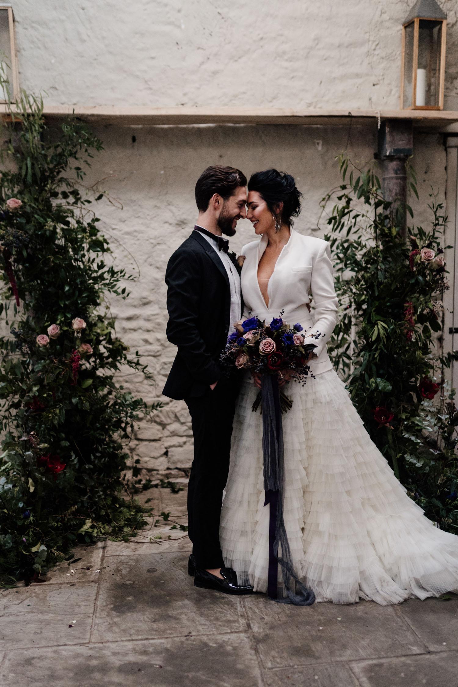 Moody Winter Wedding Inspiration