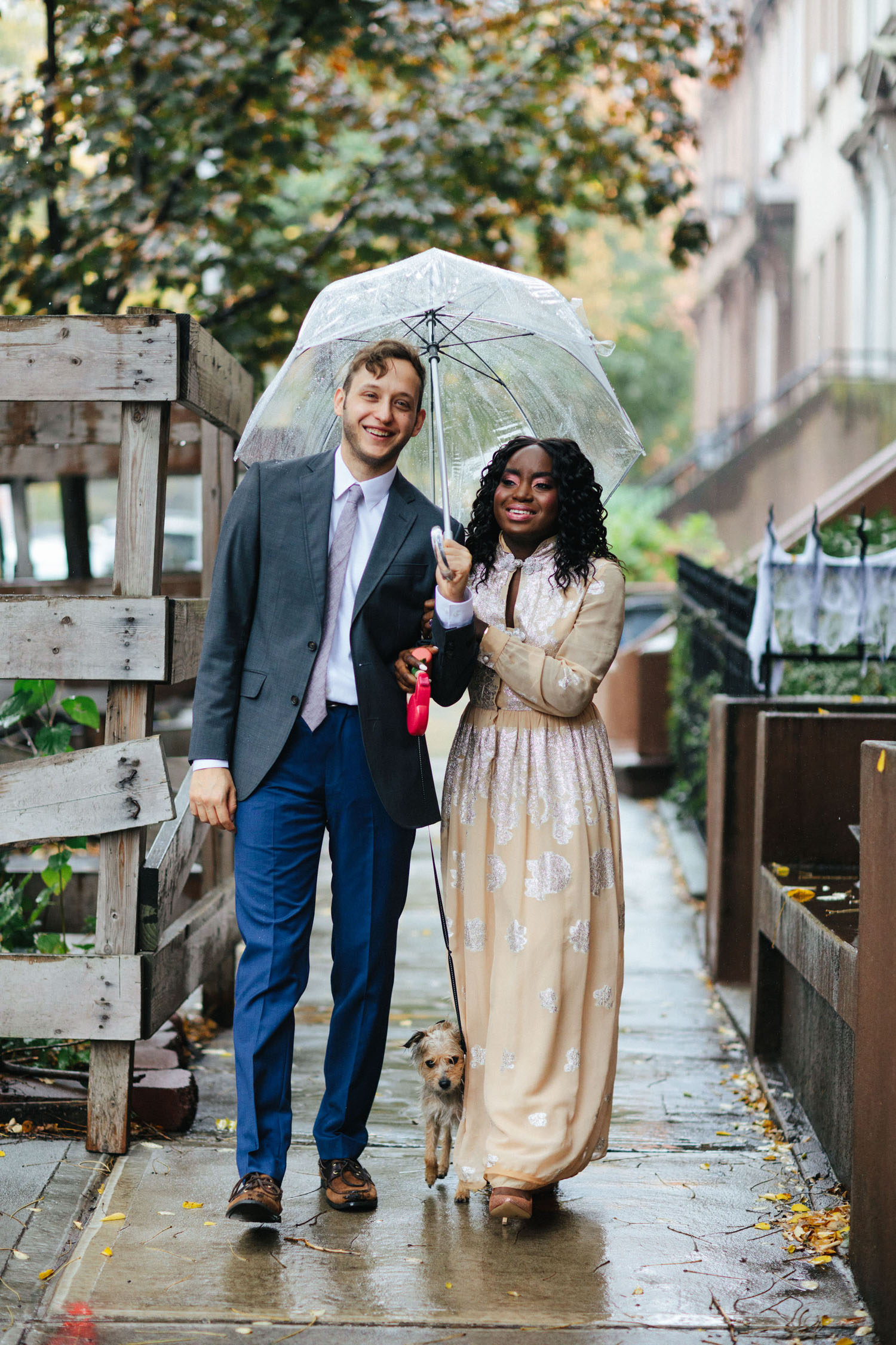 regnerische Brooklyn Elopement