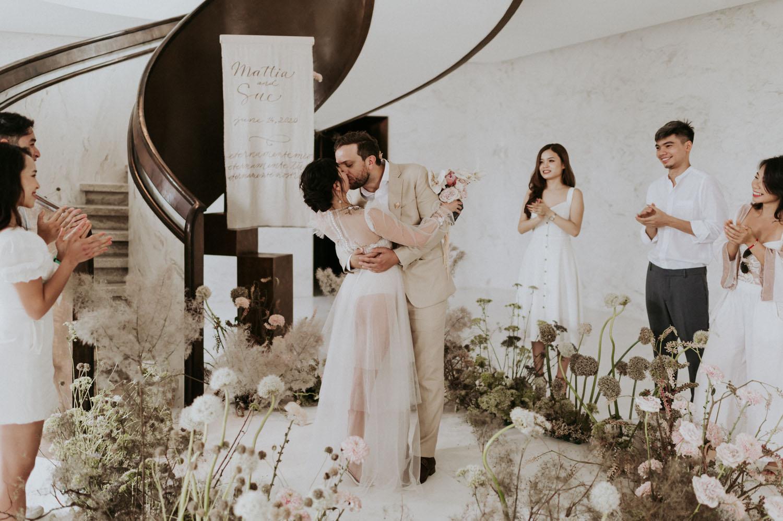Monochrome Vietnam Micro Wedding