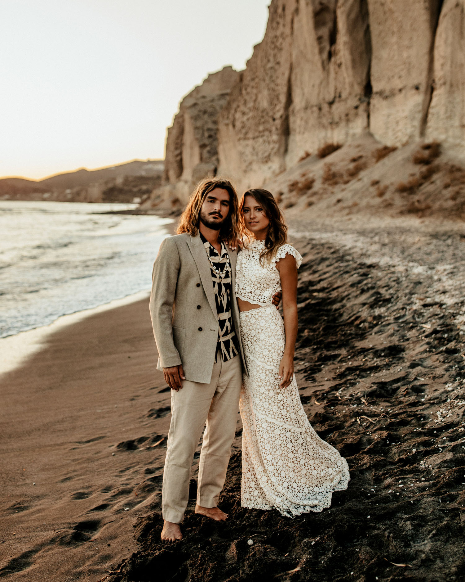 Beachside Boho Elopement Inspiration
