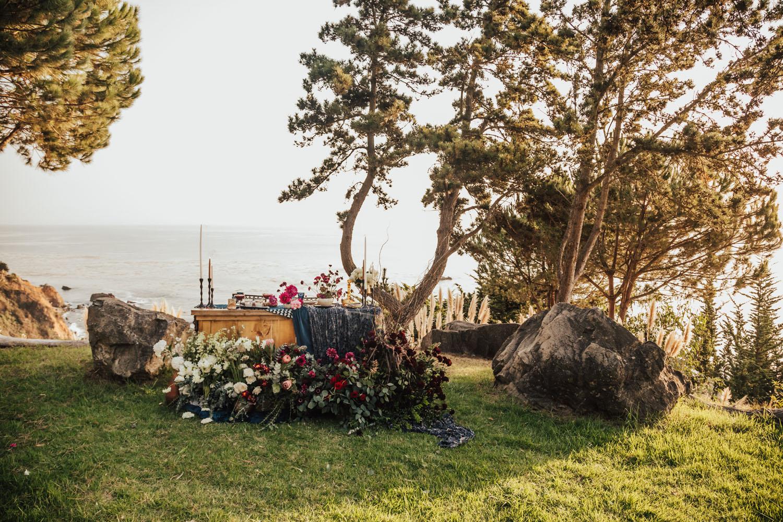 Big Sur Glamping Wedding Inspiration