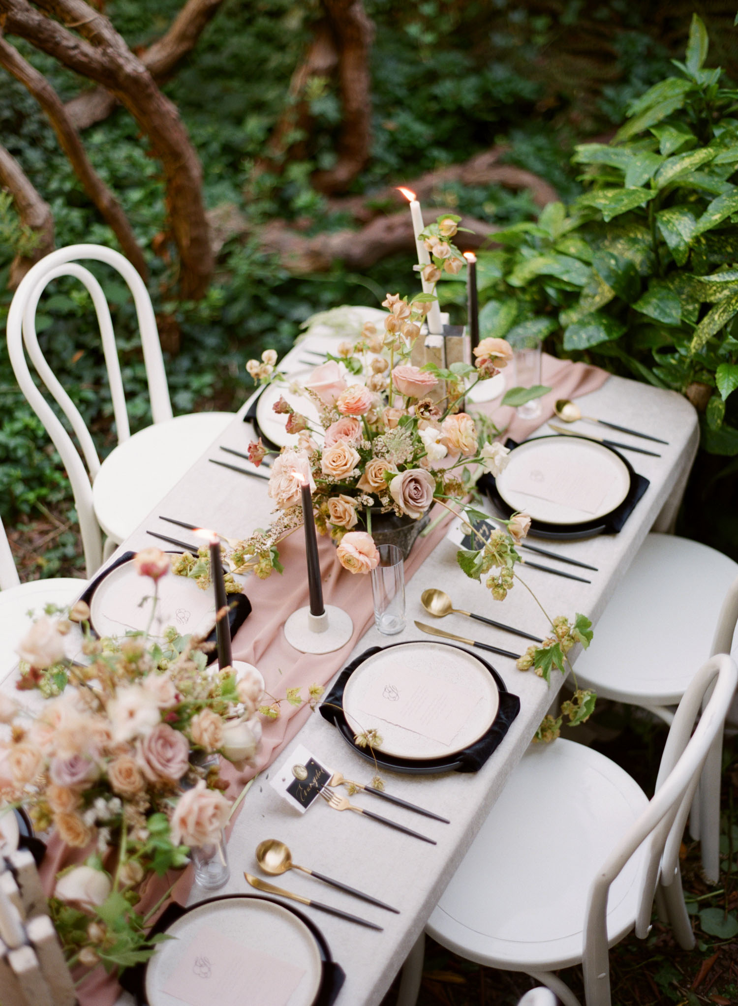 Black Swan Wedding Inspiration