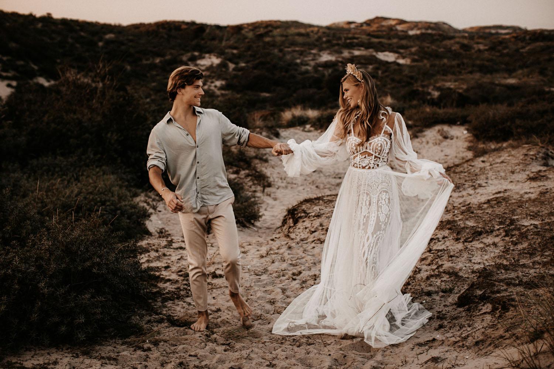 beachy boho wedding inspiration