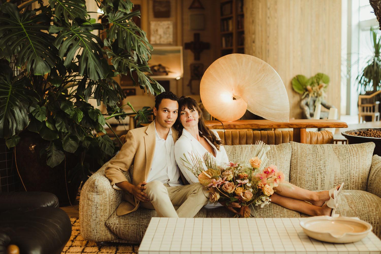 Proper hotel micro wedding