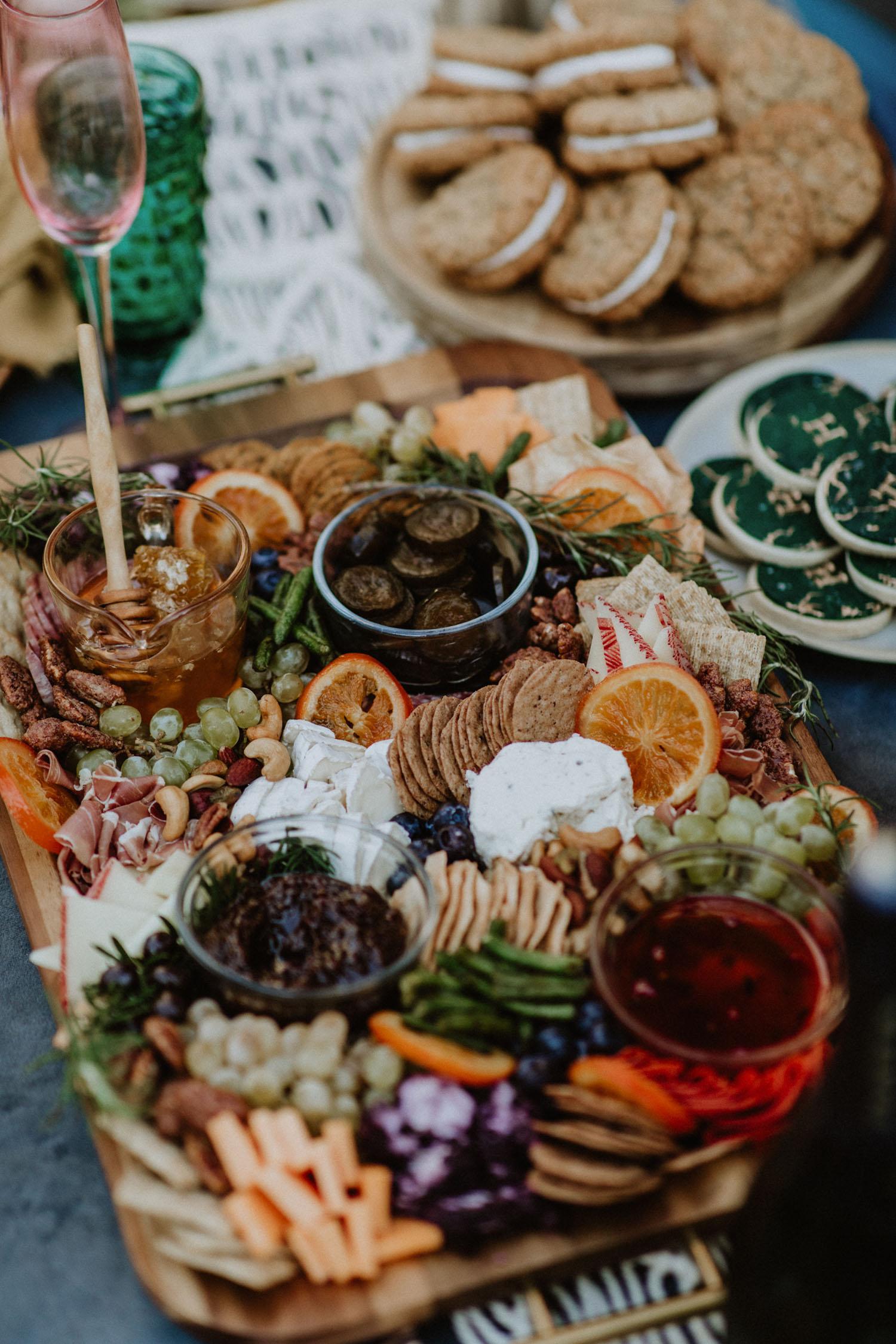 wedding charcuterie board