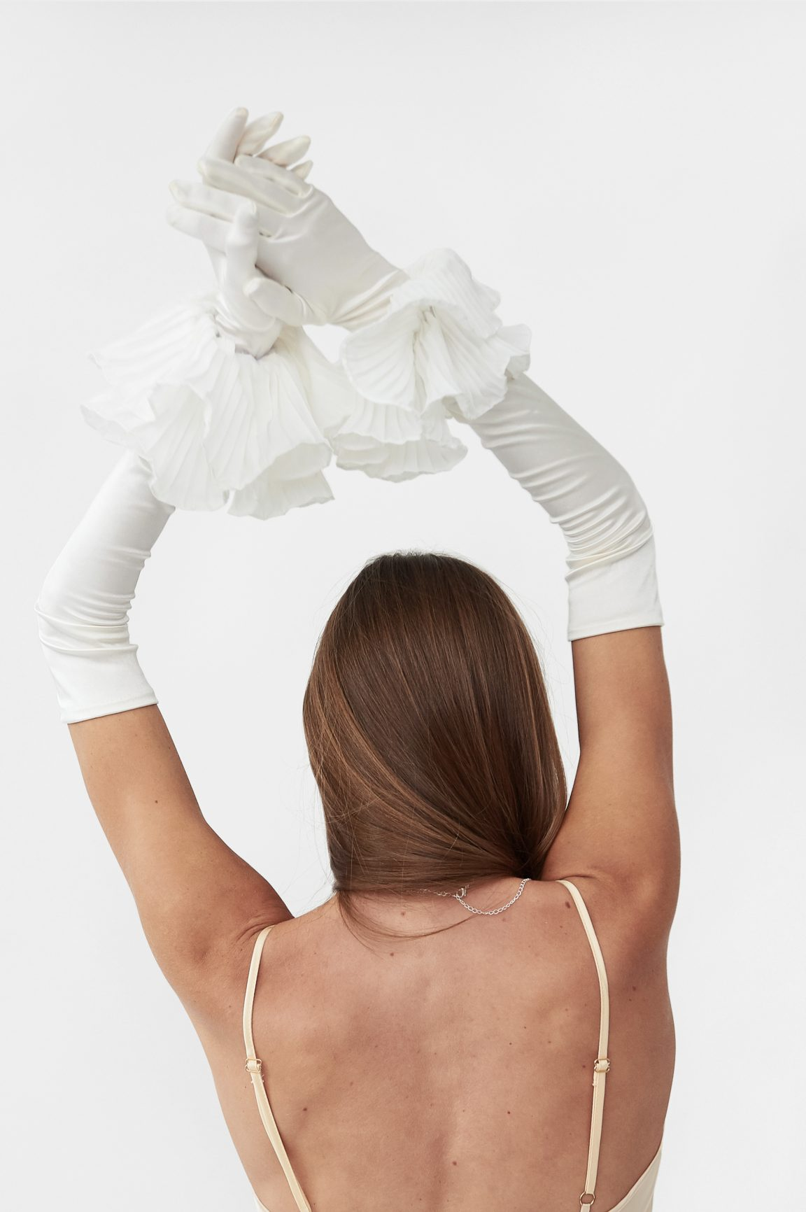 Long Satin Opera Gloves Inspired by Bridgerton