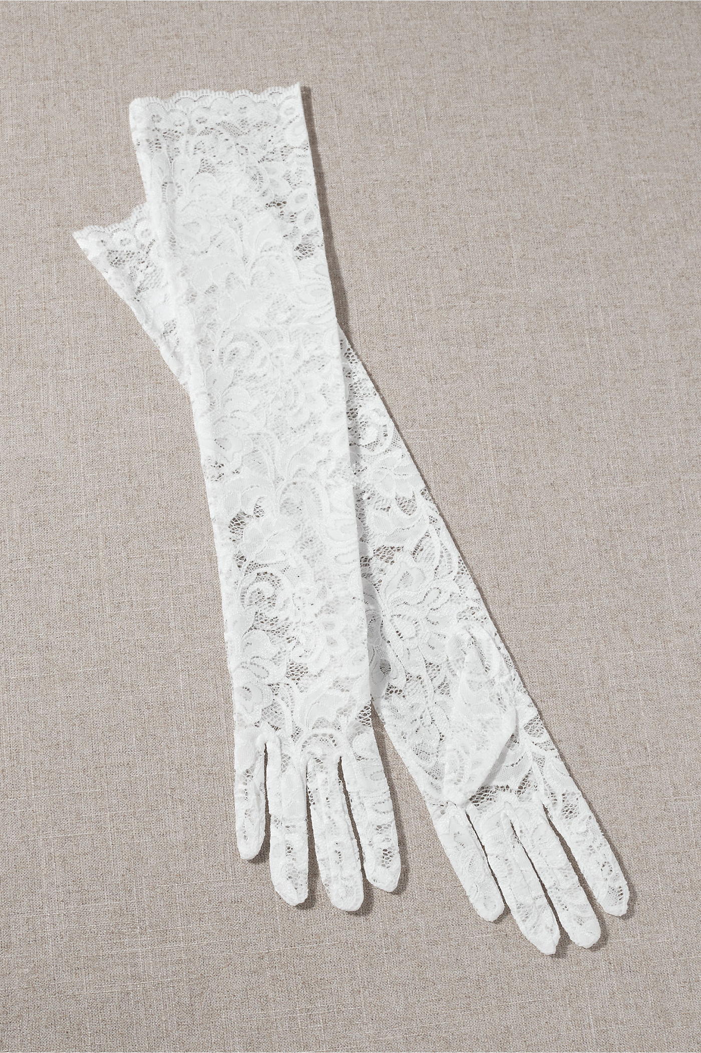 Long Lace Opera Gloves Inspired by Bridgerton