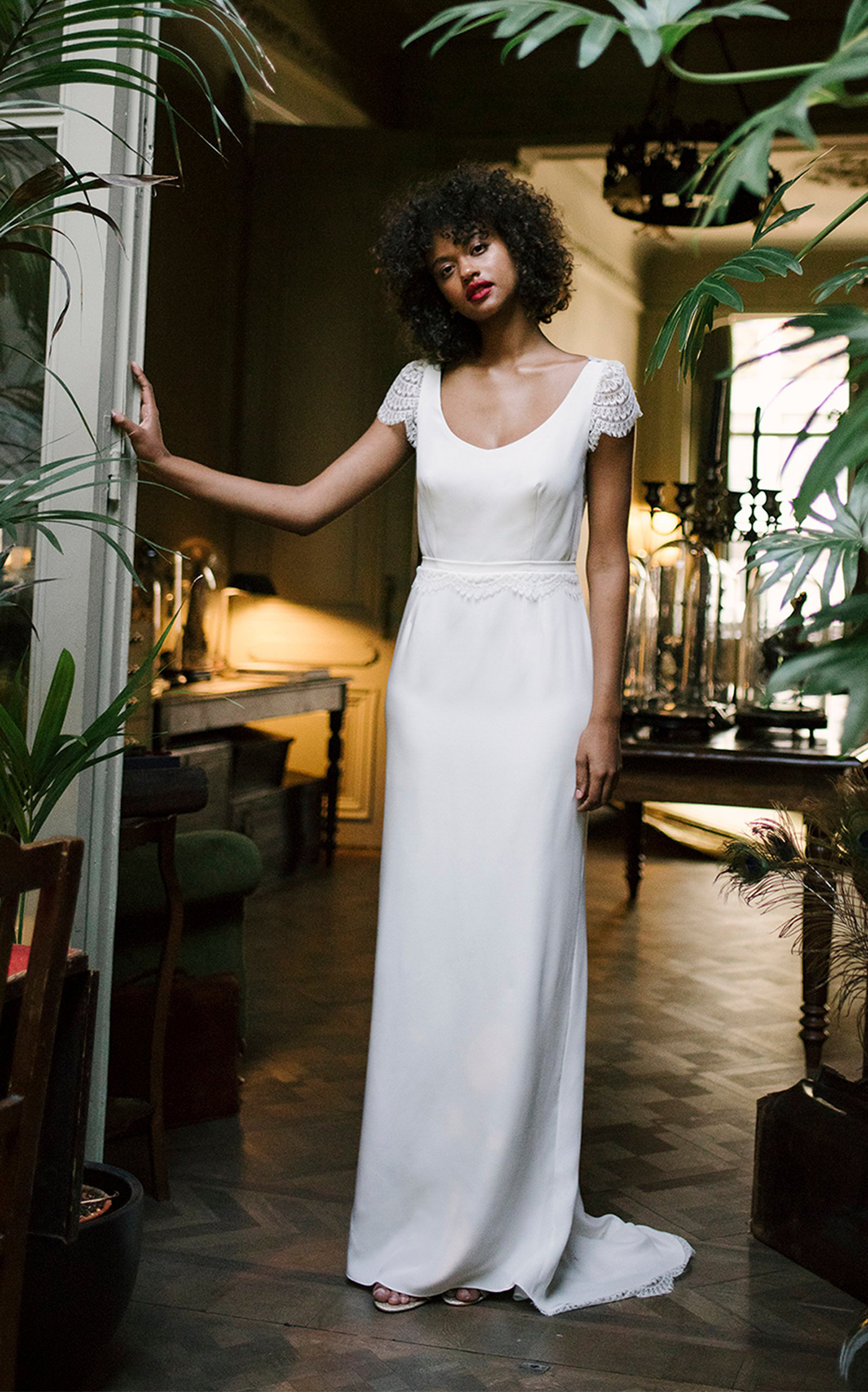 Daphne Bridgerton-Inspired Wedding Dress