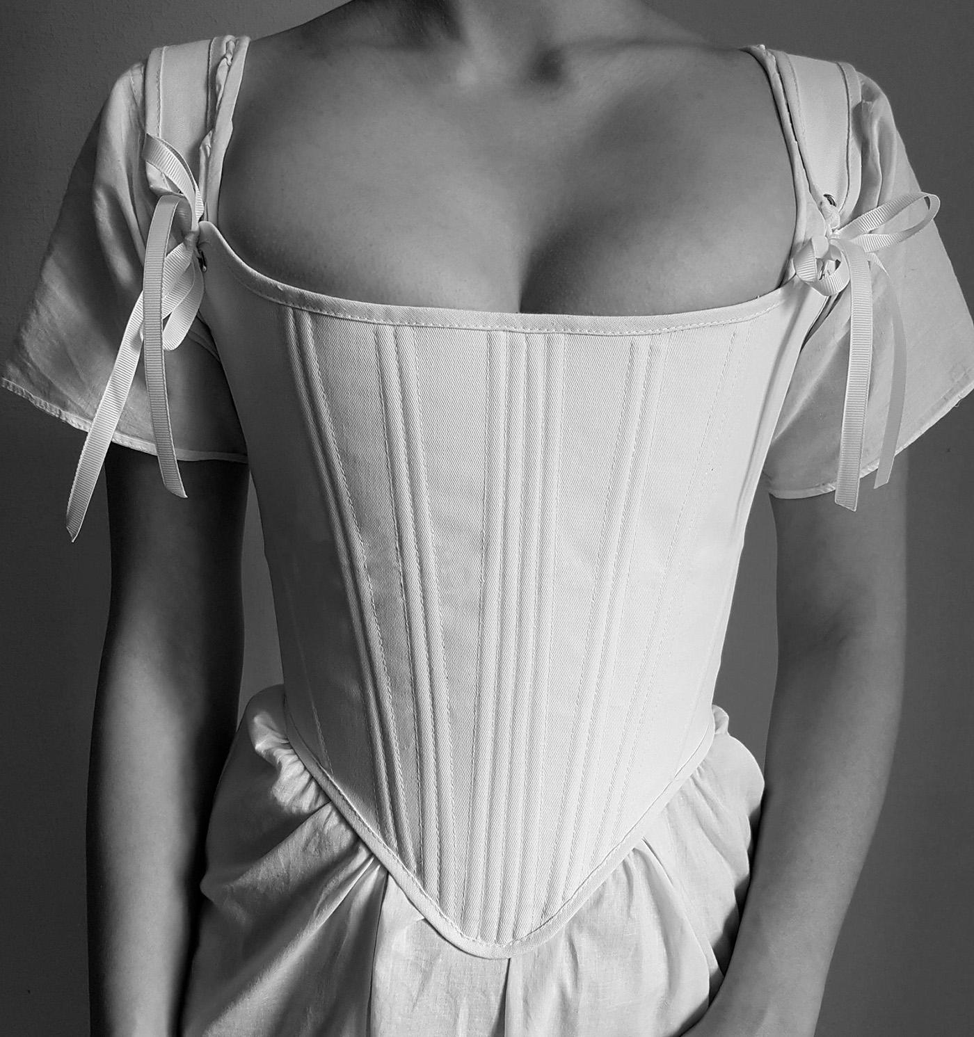 Bridgerton-inspired corset top