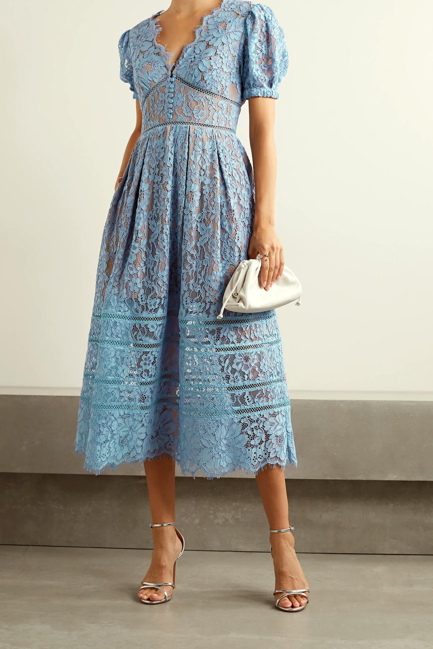 Blue Daphne Bridgerton-Inspired Dress