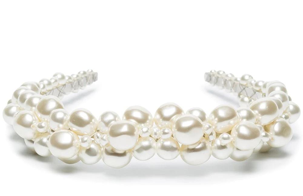 Bridgerton-Inspired Pearl Headband