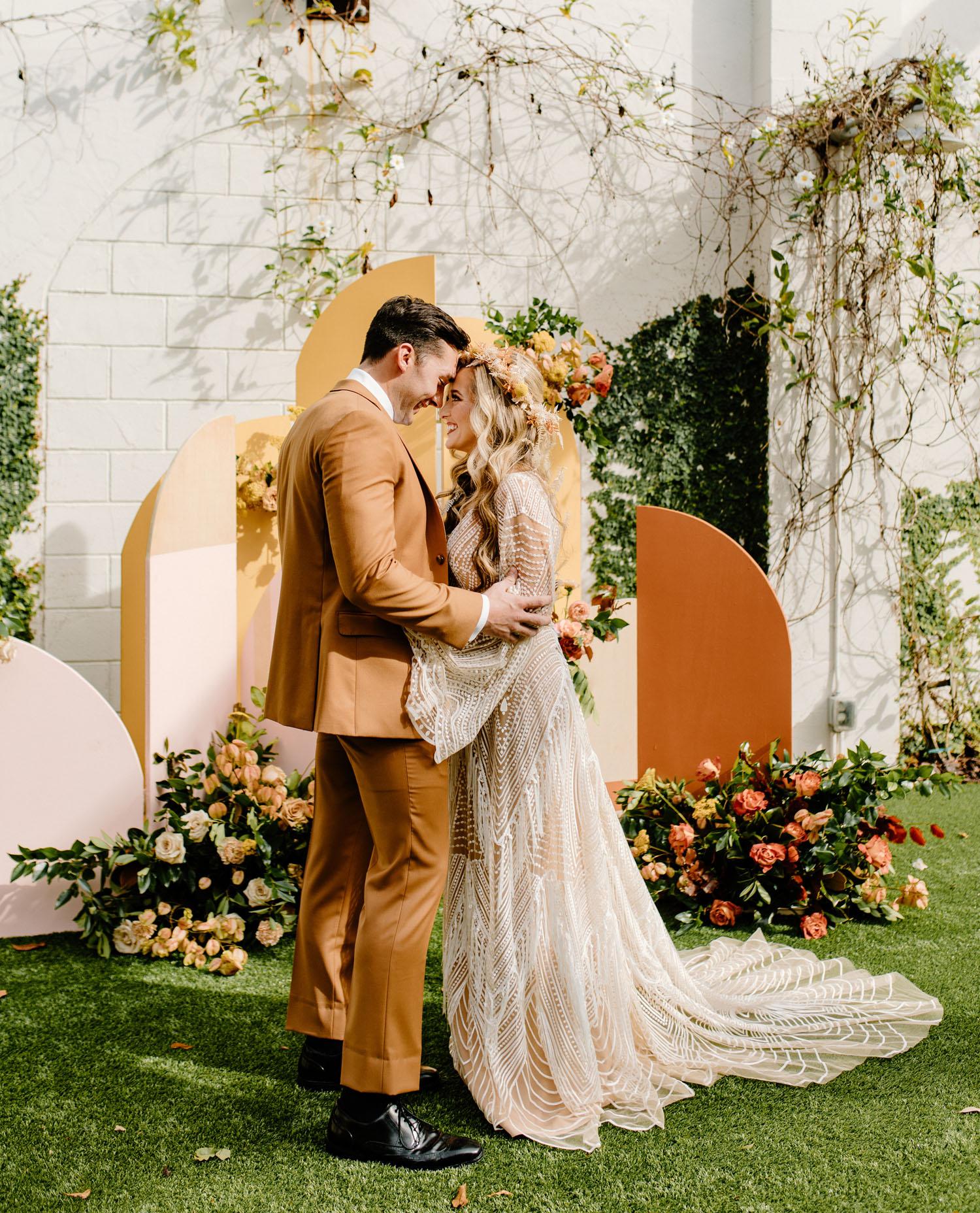 1970er Hochzeitsinspiration