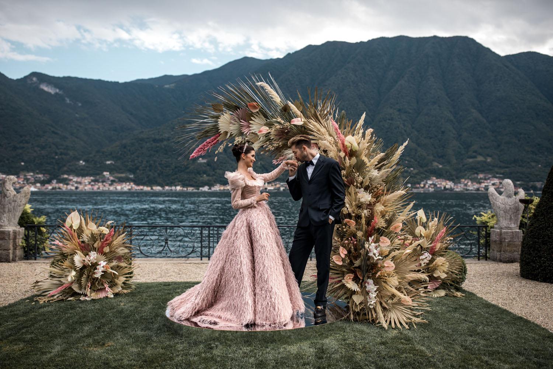 Fashionable Lake Como Wedding Inspiration