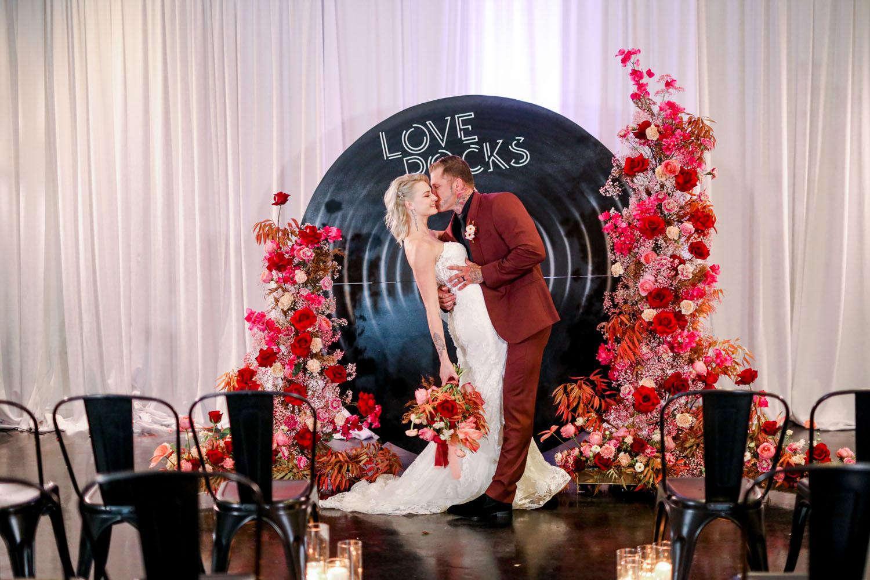 Love Rocks Valentines Wedding Inspiration