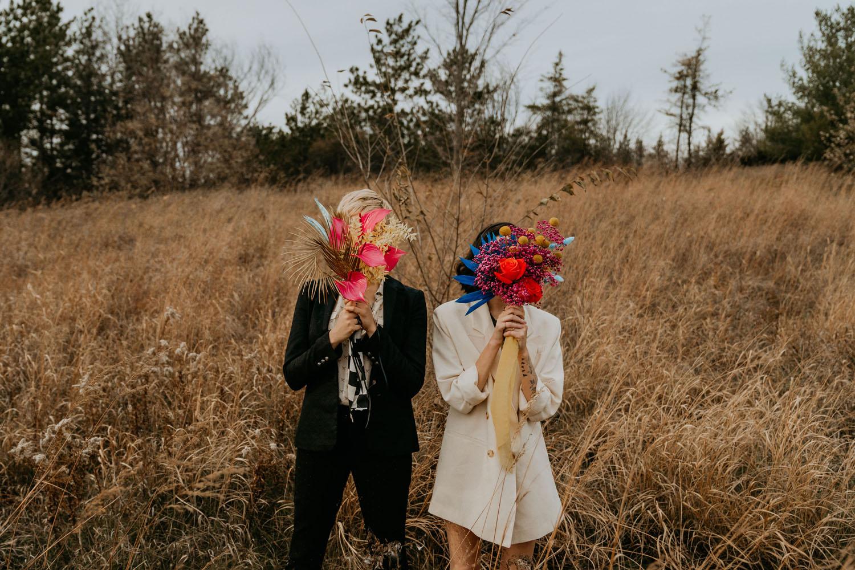 70s Glam Wedding Inspiration
