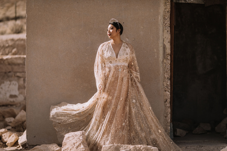 Celestial Wedding Dress