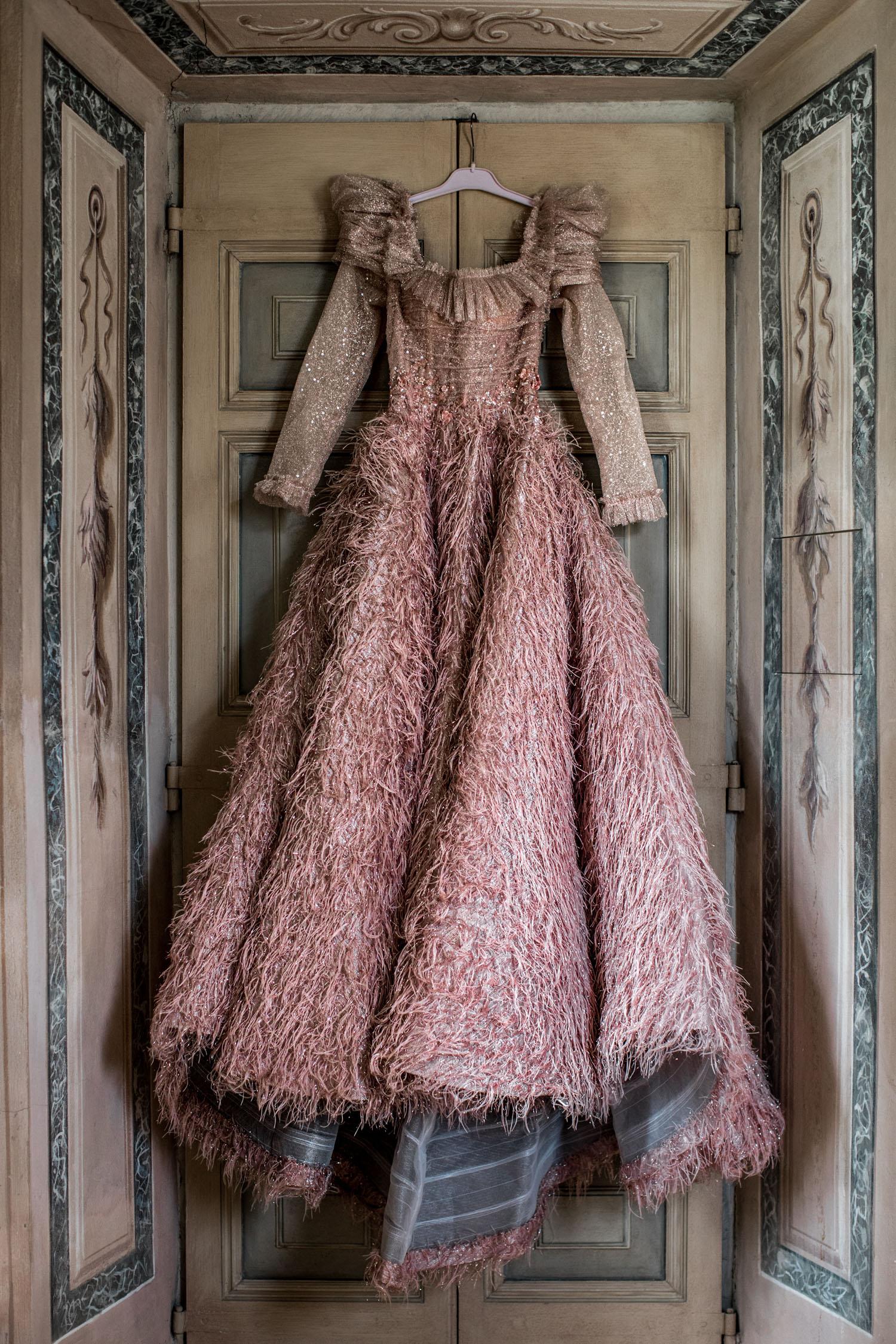 S A R A M R A D Pink Drress
