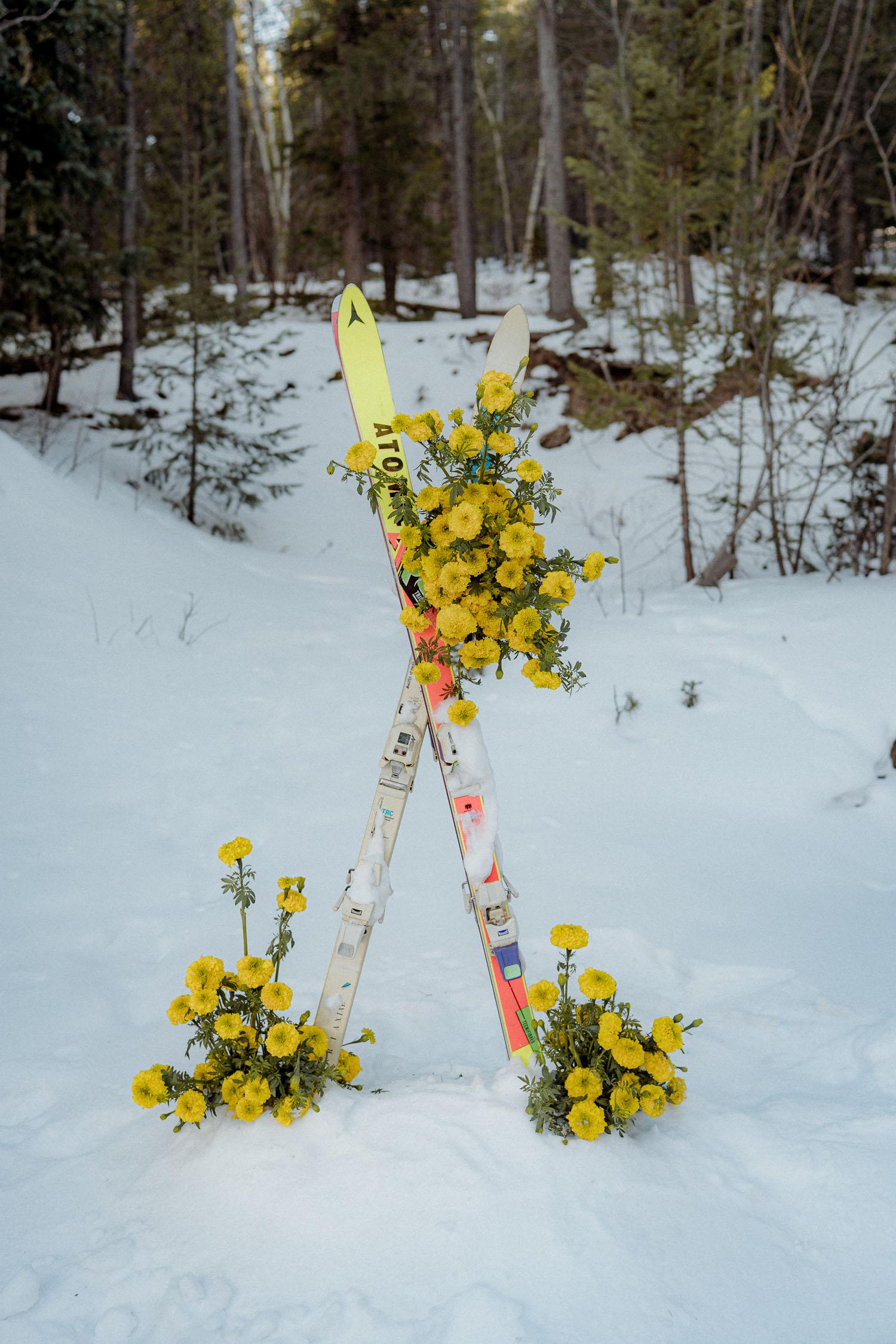 ski ceremony decor