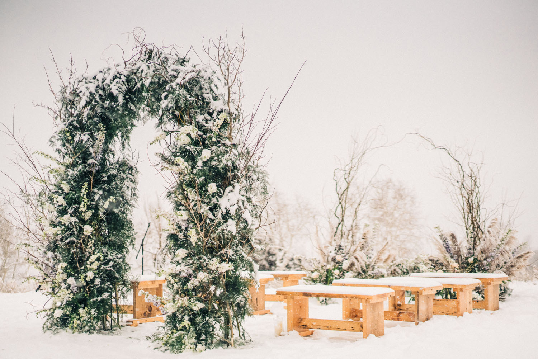 Svadba u Coloradu u mećavi