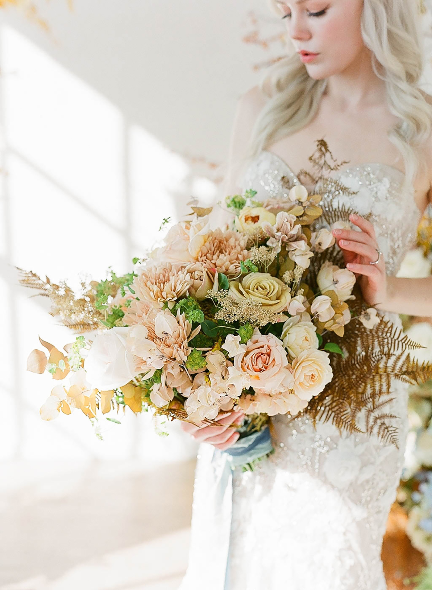 Modern pantone yellow wedding inspiration