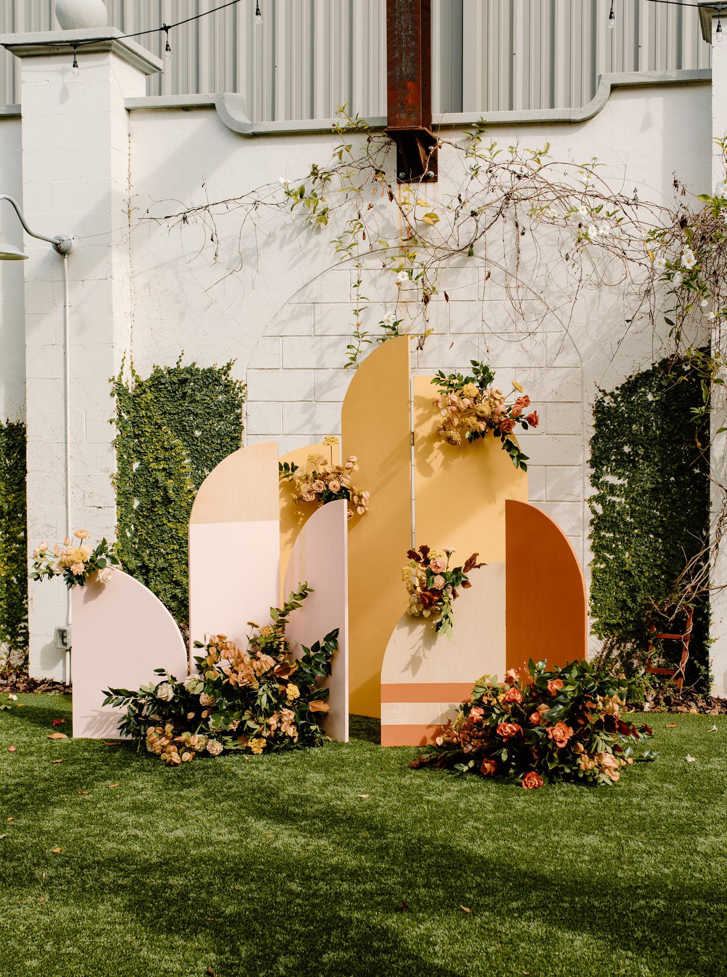 moderne Form Zeremonie Hintergrund