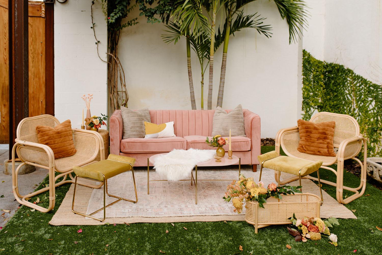 Boho Lounge Hochzeit Inspo