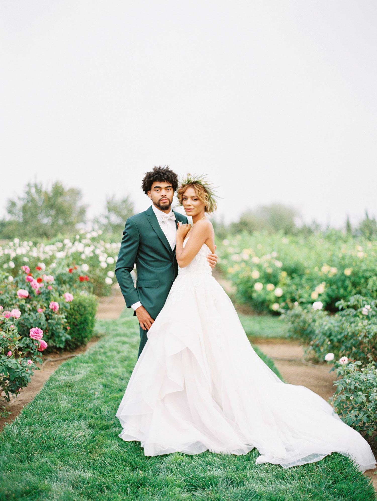 Intimate Greenhouse Garden Wedding Inspiration
