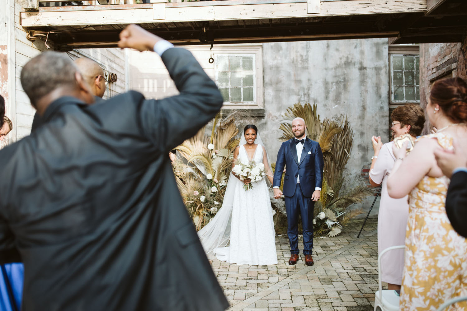 Intimate New Orleans Racial and Religious Wedding