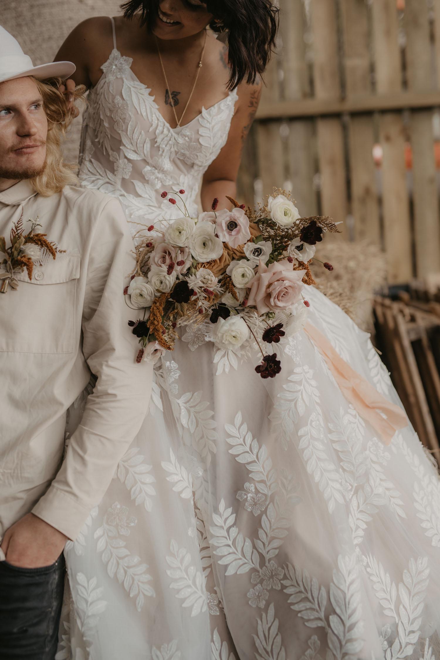 Rustic barn wedding inspiration