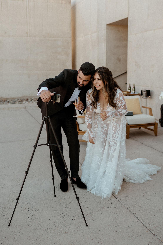 Livestream wedding