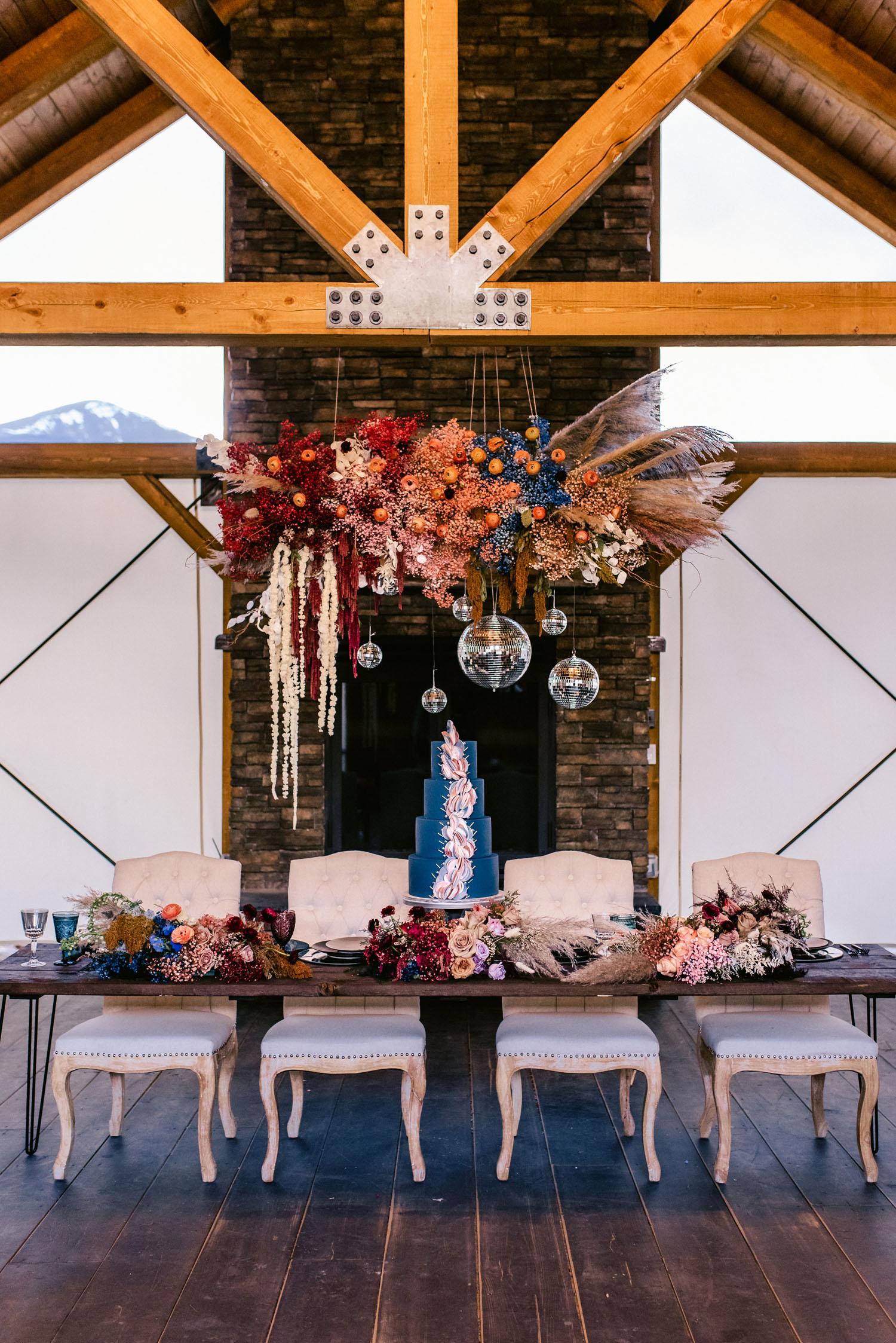 Outdoor Disco Wedding Inspiration