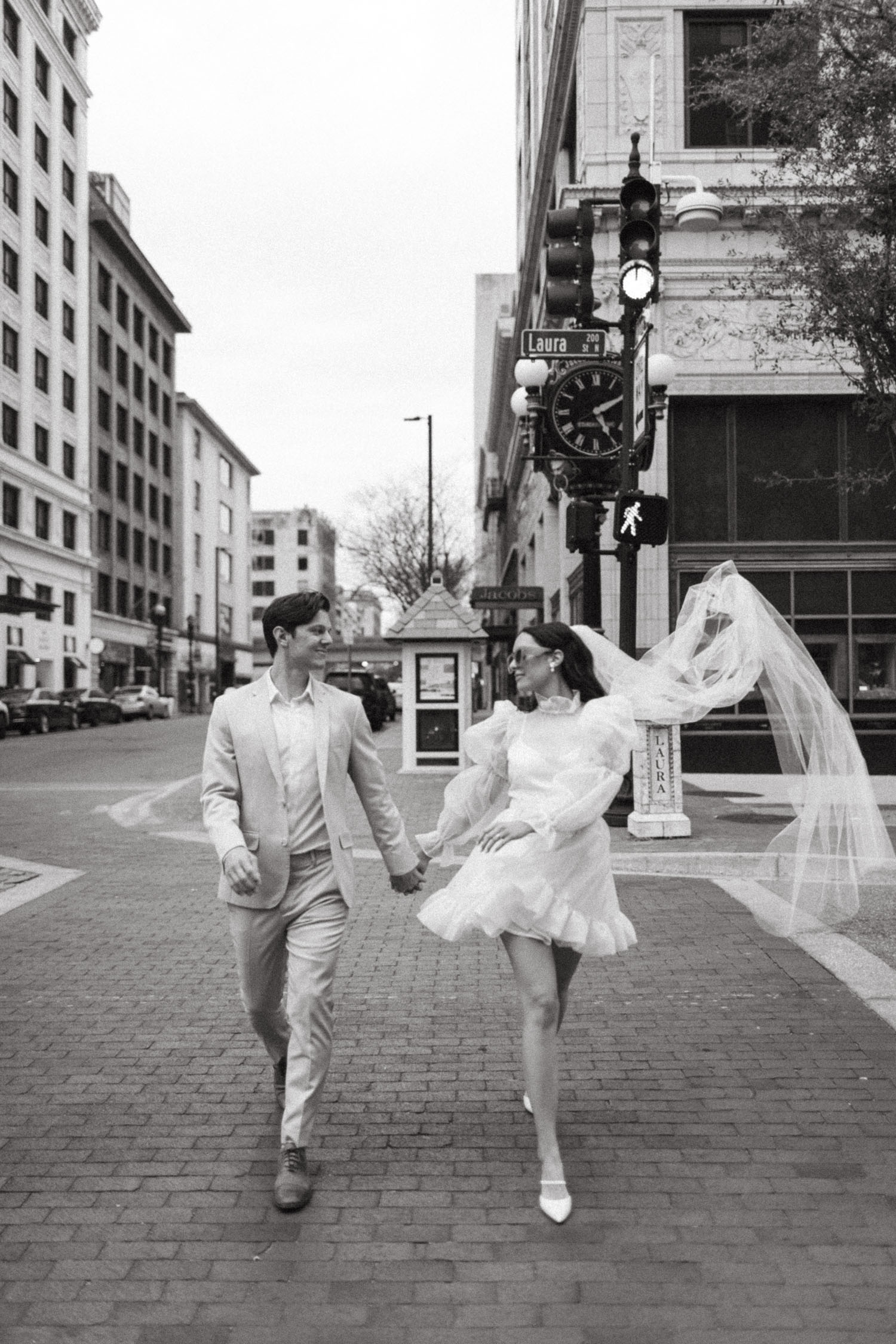 City Elopement Portraits