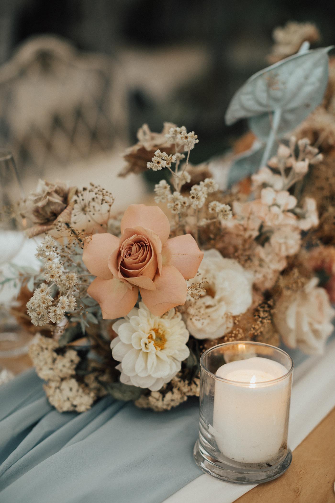 Romantic Backyard Micro Wedding