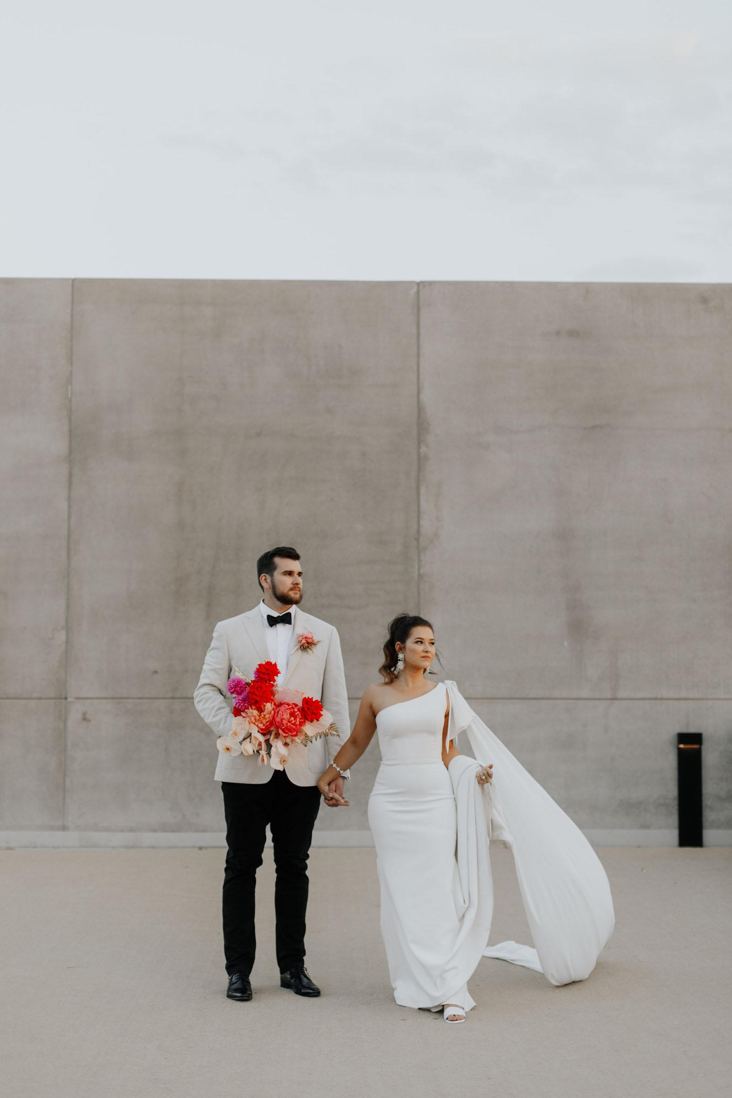 Modern Australian wedding