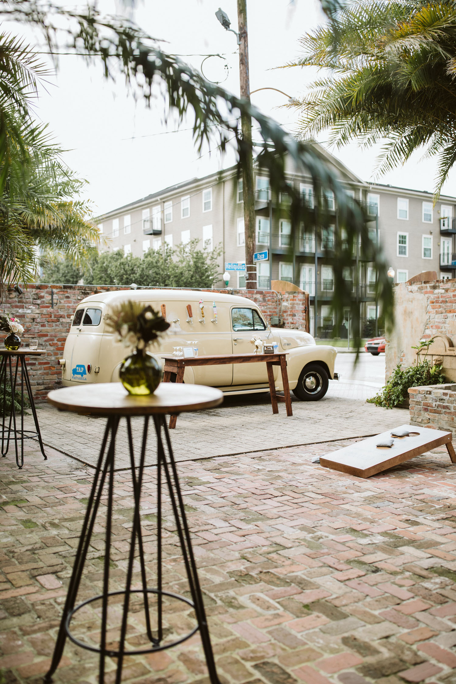 Intimate New Orleans Race and Religious Wedding